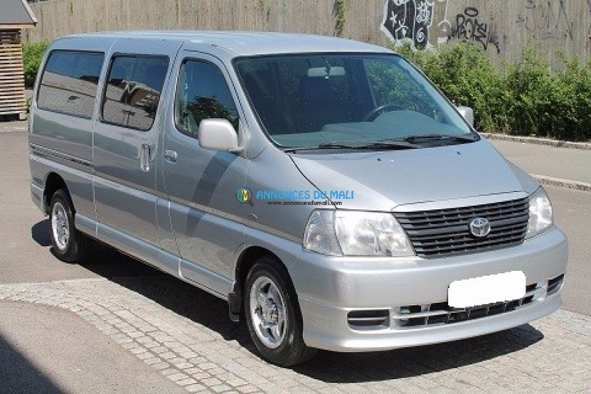 toyota hiace 9 places a vendre automobile bamako. Black Bedroom Furniture Sets. Home Design Ideas